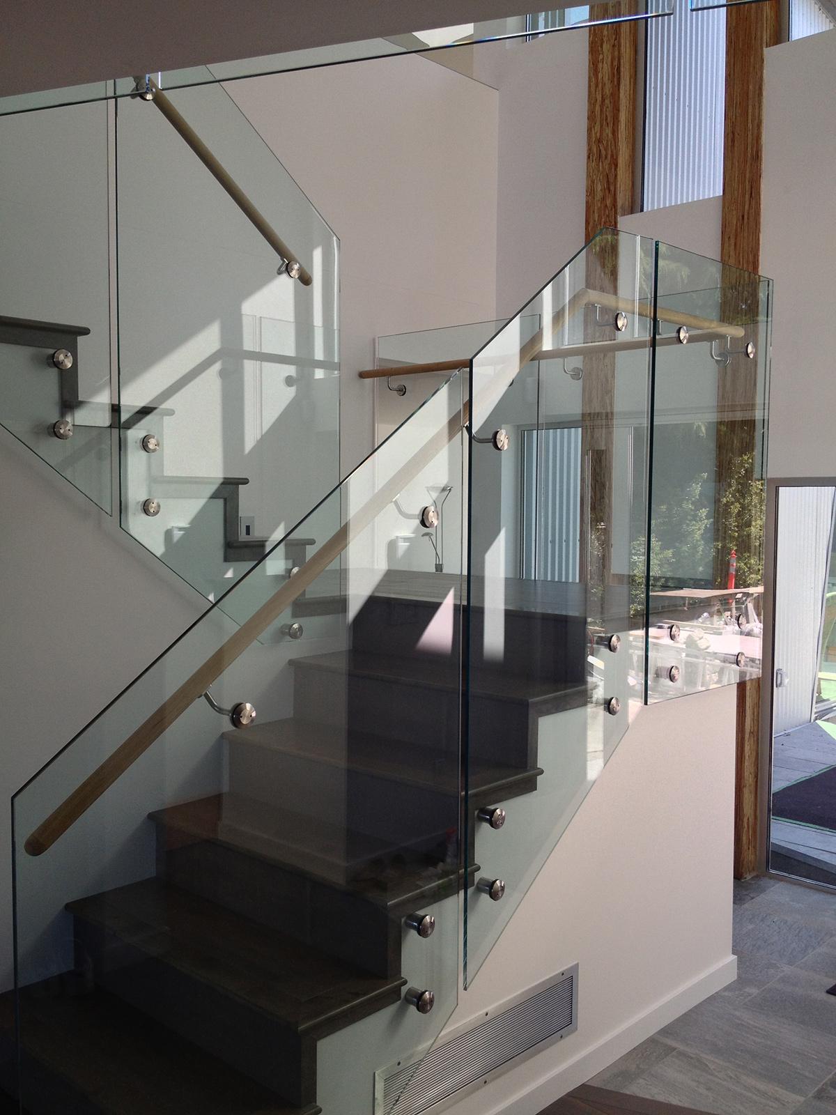 Frameless Glass Railings Altoglass Framed And
