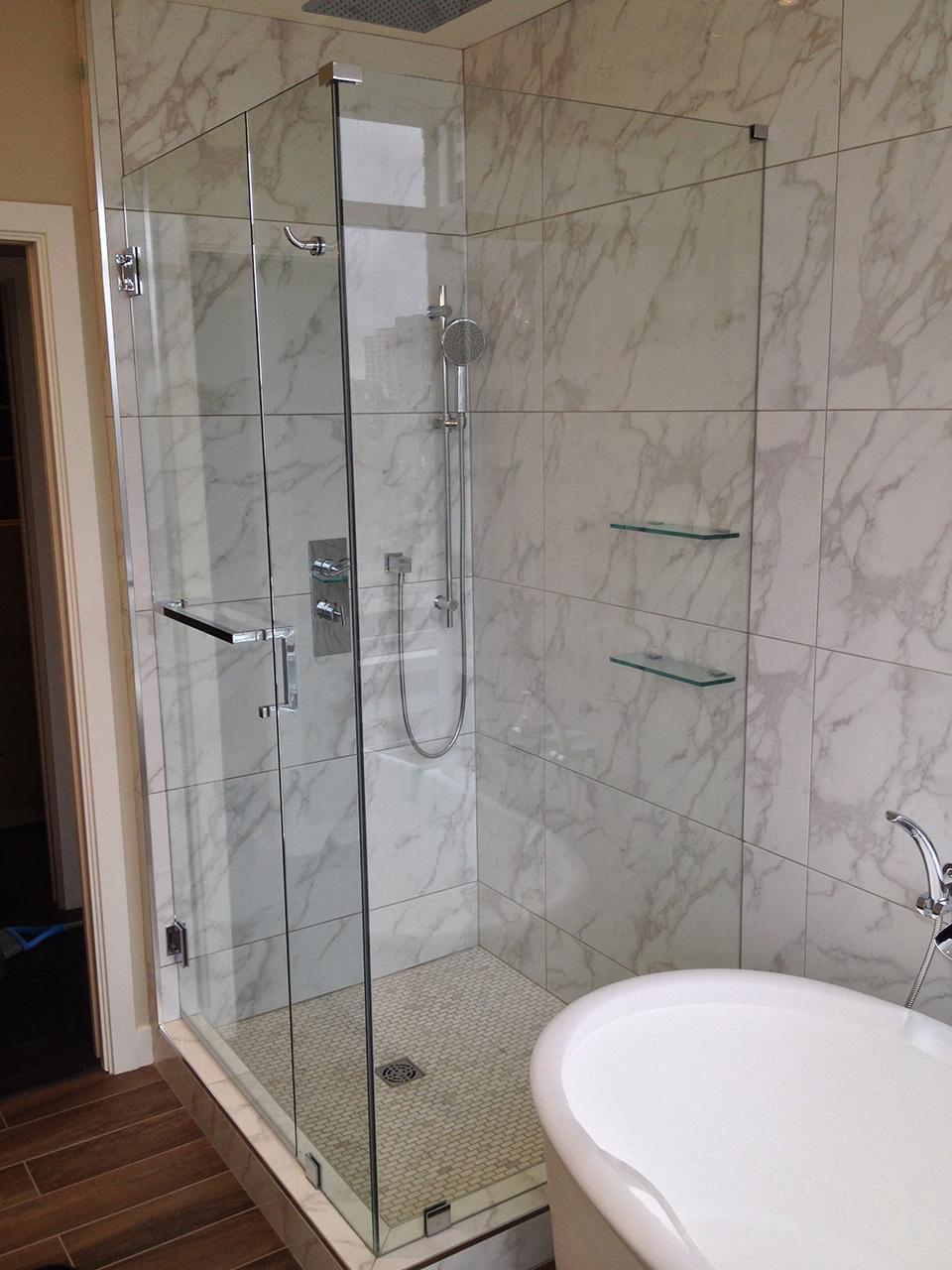 Install Glass Shower Door