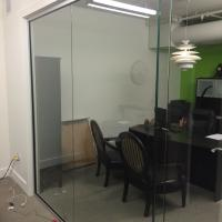 Glass Office Wall Divider