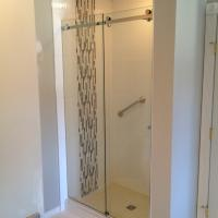 Sliding Frameless Glass Shower Door